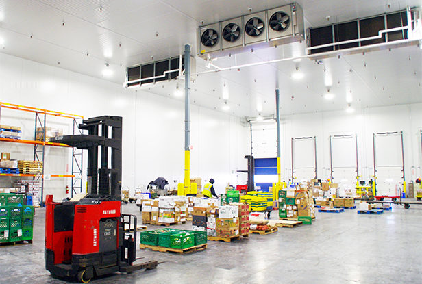 photo of a cold storage facility